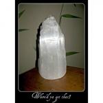 WHERE'D YA GET THAT? - Selenite Crystal (lamp)
