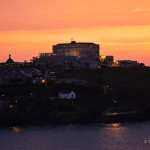 Sunset on Newquay Bay