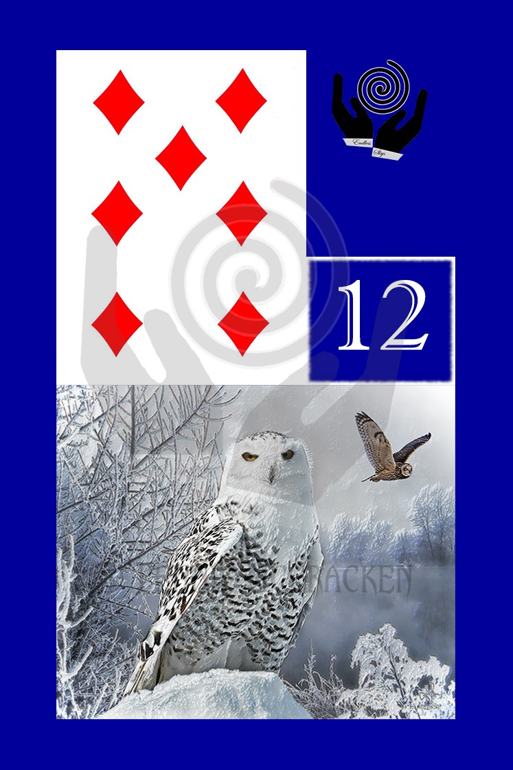Modern Lenormand Deck (choice of three colours) by Pennie McCracken - Endless Skys