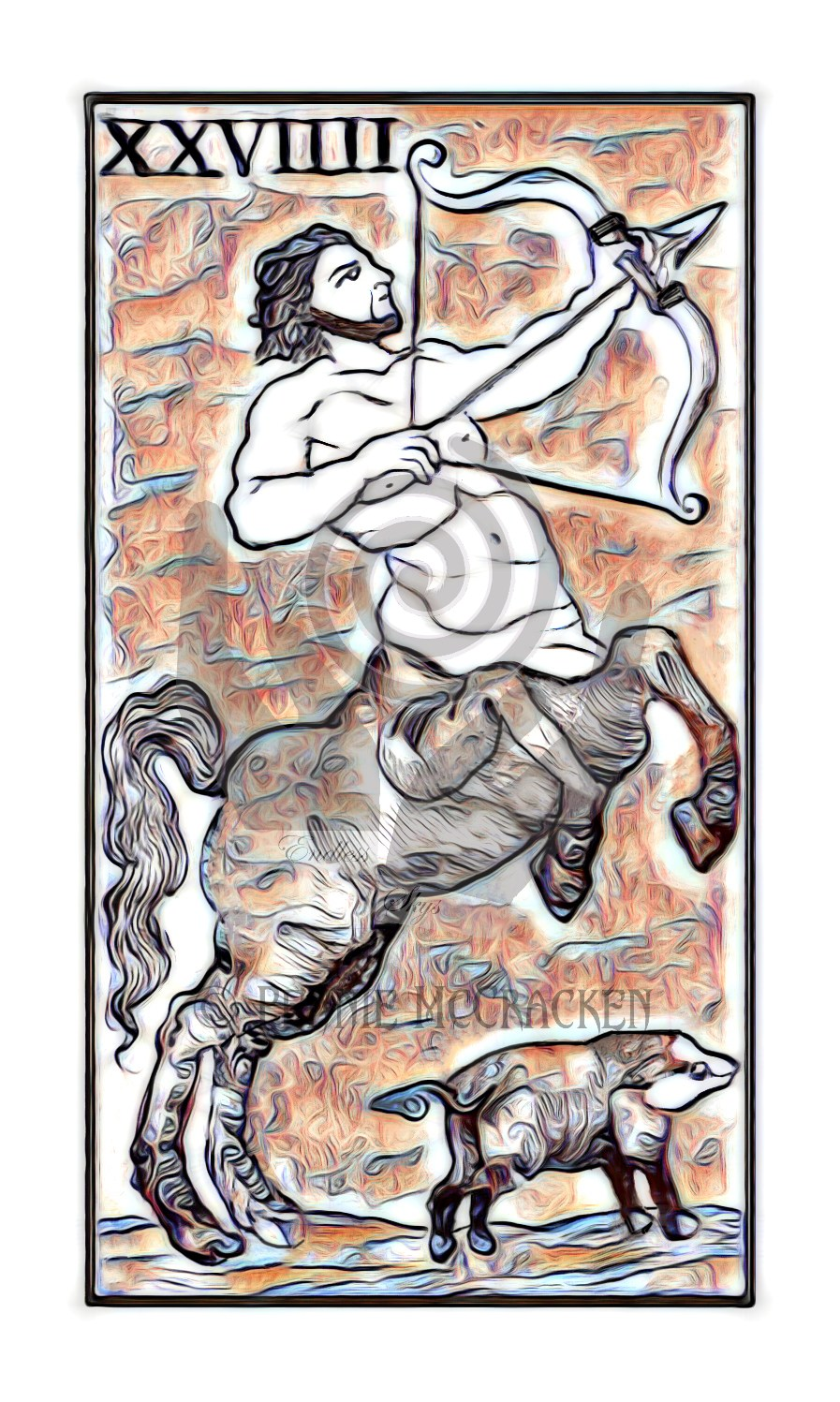Minchiate Fiorentine Tarot Deck in Broze Style by Pennie McCracken - Endless Skys