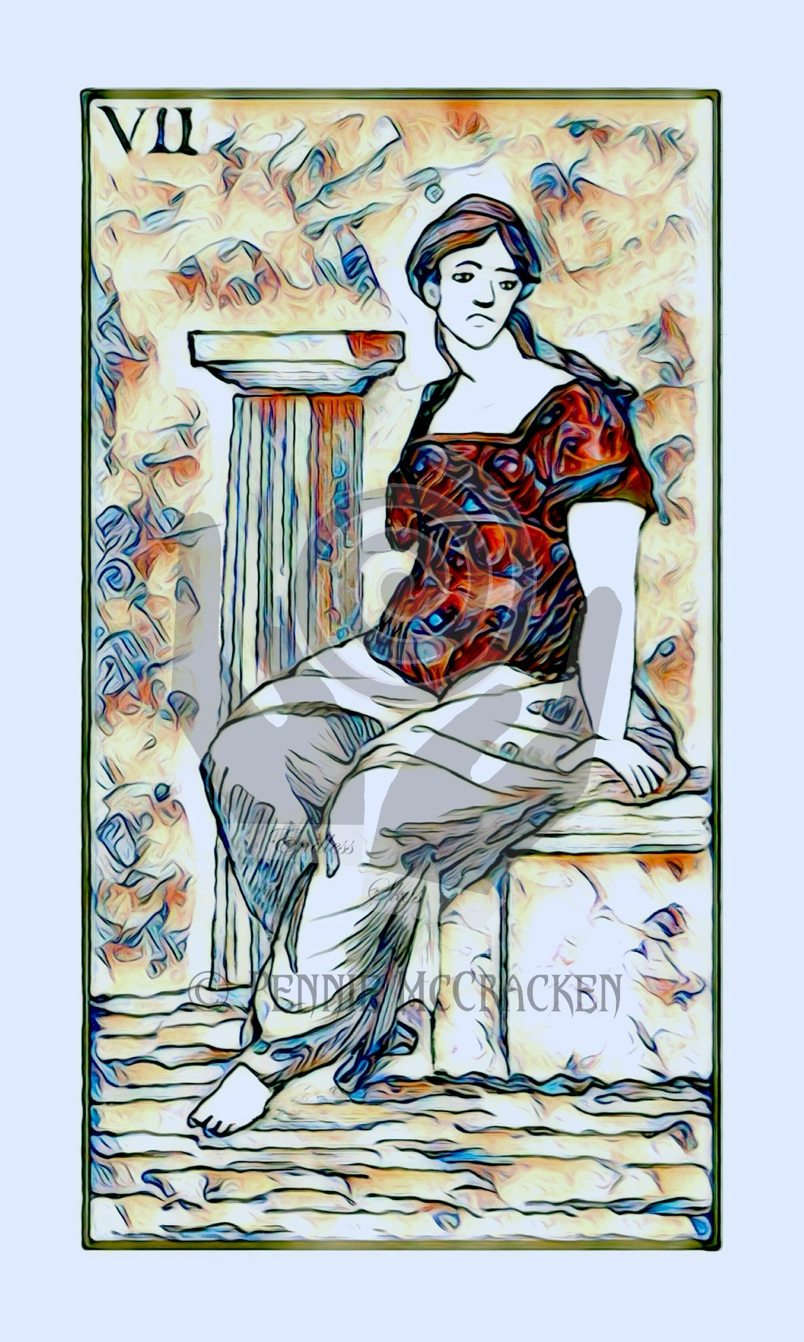 Minchiate Fiorentine Tarot Deck in Gold Style by Pennie McCracken - Endless Skys