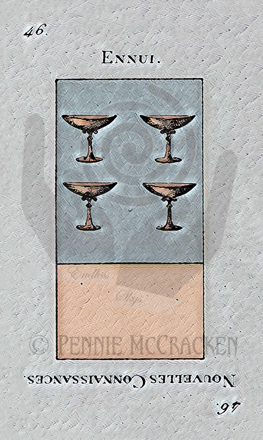 Etteilla Tarot in Ancient Stone Deisgn by Pennie McCracken - Endless Skys