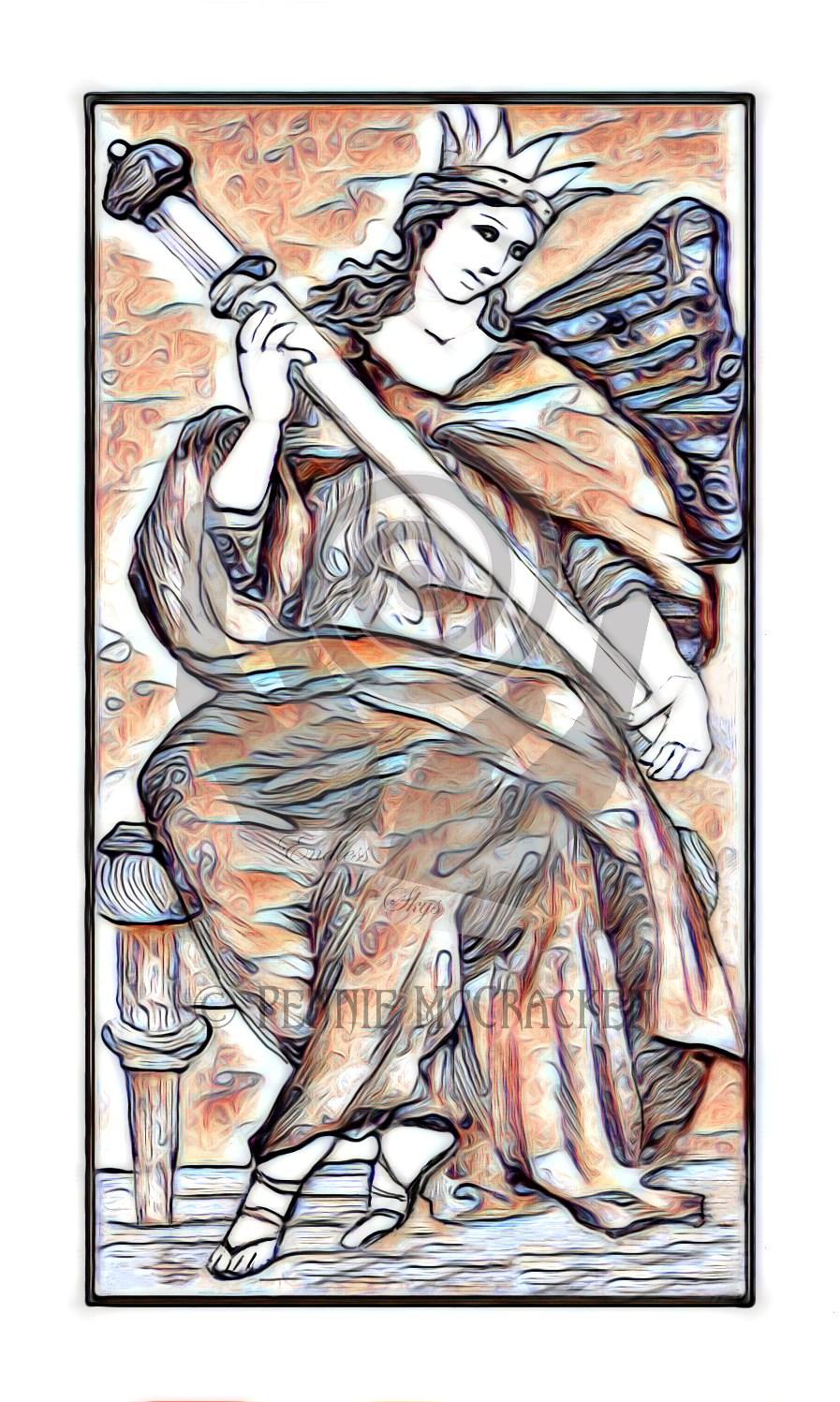Minchiate Fiorentine Tarot Deck in Broze Style by Pennie McCracken - Endless Skys