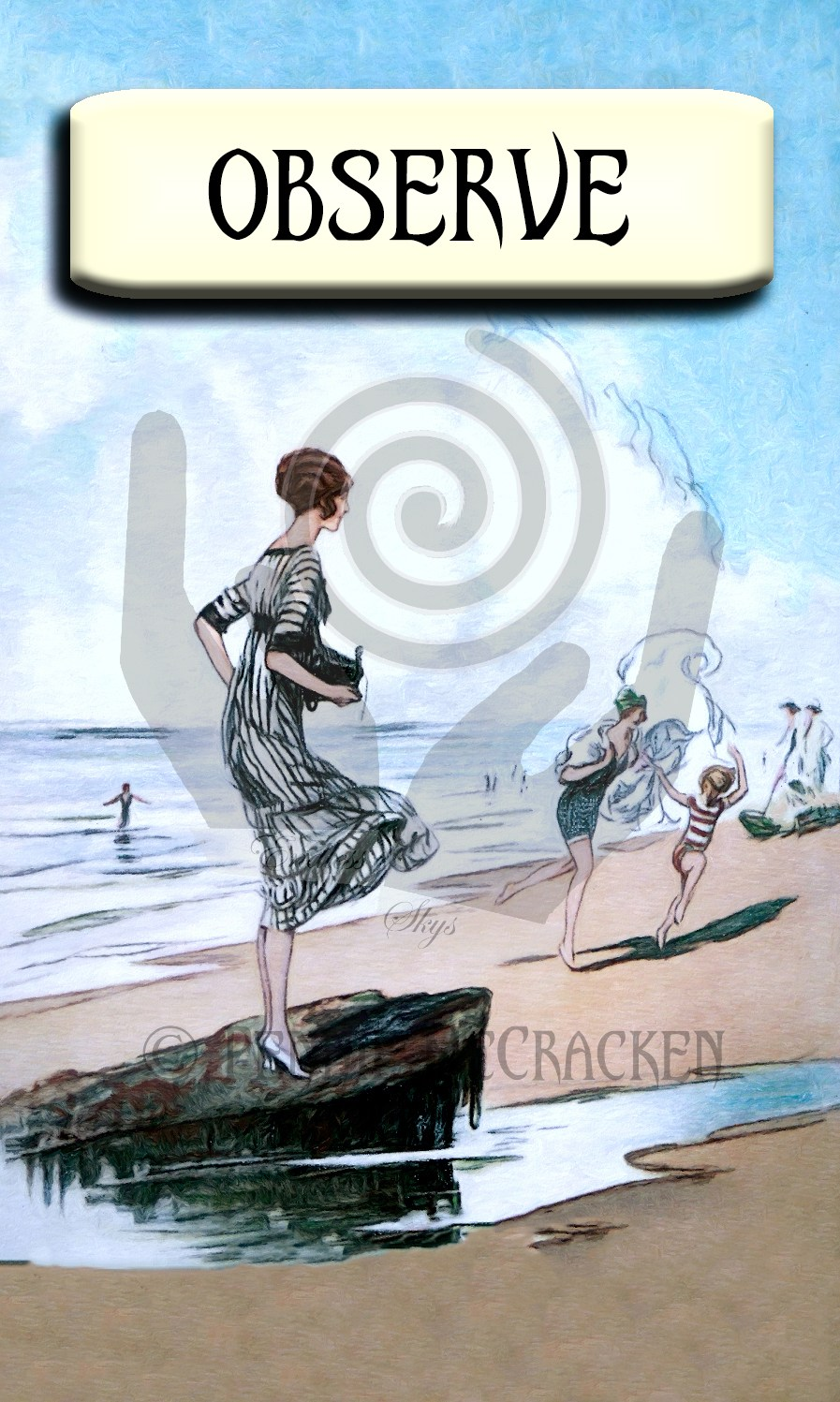 Vintage Oracle Deck by Pennie McCracken - Endless Skys