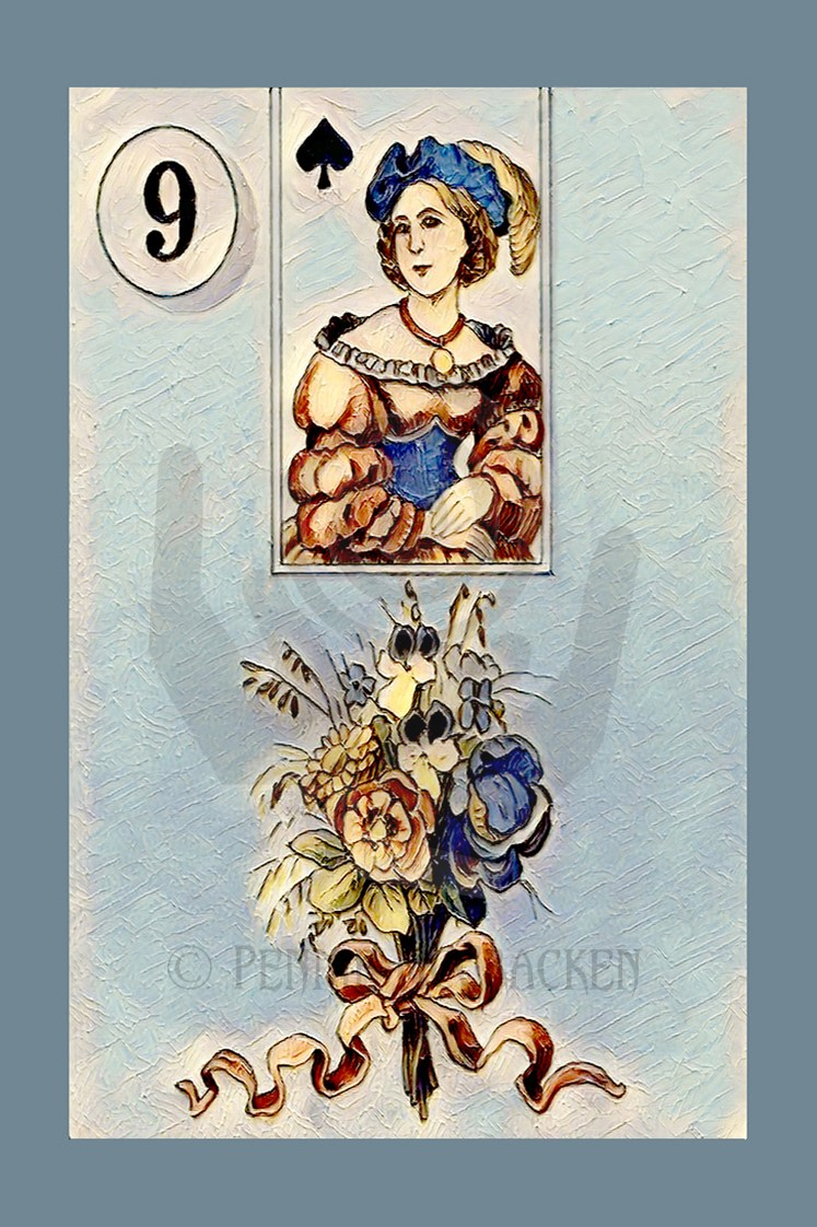 Traditional Lenormand Deck by Pennie McCracken - Endless Skys