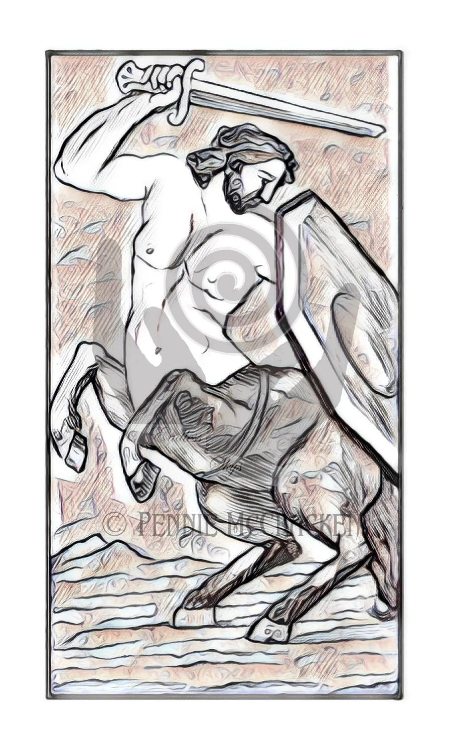 Minchiate Fiorentine Tarot Deck in Sketch Style by Pennie McCracken - Endless Skys