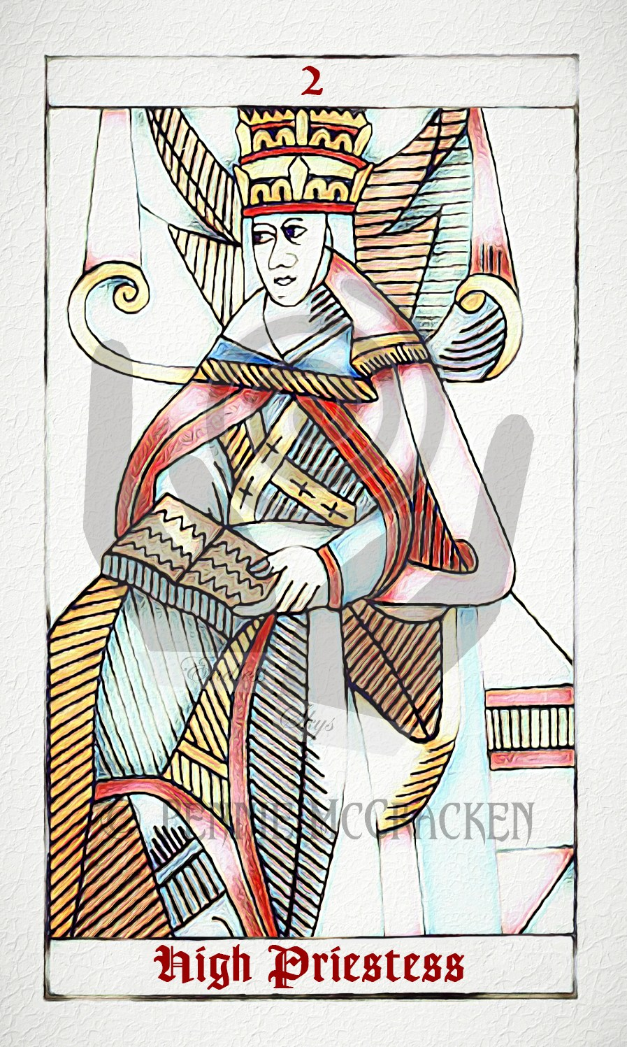 Tarot de Marseille with English Titles by Pennie McCracken - Endless Skys