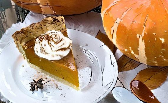 Pumpkin Pie, How it Began